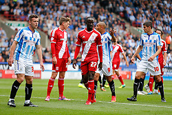 Albert Adomah of Middlesbrough looks on - Photo mandatory by-line: Rogan Thomson/JMP - 07966 386802 - 13/09/2014 - SPORT - FOOTBALL - Huddersfield, England - The John Smith's Stadium - Huddersfield town v Middlesbrough - Sky Bet Championship.