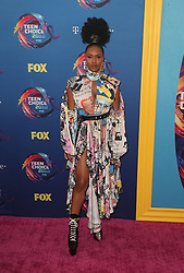 FOX's Teen Choice Awards 2018 at The Forum in Inglewood. California on August 12, 2018. CAP/MPIFS ©MPIFS/Capital Pictures. 12 Aug 2018 Pictured: Michelle Mitchenor. Photo credit: MPIFS/Capital Pictures / MEGA TheMegaAgency.com +1 888 505 6342