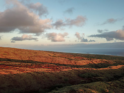 Sunrise Looking Out At Molokai