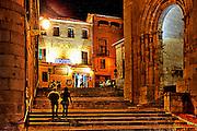 Segovia Night scene art rendition