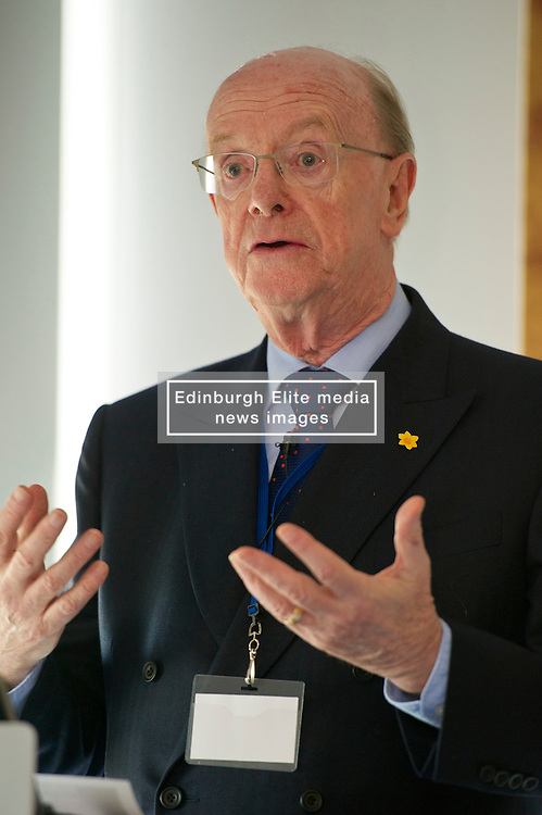 Pictured: Professor Russel Griggs OBE, (Chair Scottish Government Independent Advisory Regulatory Review Group<br /> <br /> Conference to examine impact of Brexit on Scottish businesses and public services. The event, organised by the Fraser of Allander Institute and Strathclyde Business School, heard from a numbers of speakers including Mark Taylor (Audit Scotland), John Edward (former head of Office in Scotland, the European Parliament, Professor Russel Griggs OBE, (Chair Scottish Government Independent Advisory Regulatory Review Group), Jenny Stewart (head of Infrastructure and Government KPMG), Lynda Towers (Director of public law Morton Fraser), Katerina Lisenkova (Head of economic modelling, Fraser of Allander Institute), Ian Wooton (Professor of Economics and Vice  Dean (research) Strathclyde Business School), Alastair Ross FCIPR (assistant Director, Head of Public Policy Association of British Insurers) and  Scottish Brexit Minister Mike Russell<br /> <br /> Ger Harley   EEm 2 March 2017