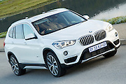 BMW South Africa launches the new BMW X1 to the South African media along the Garden Route and interior. Image by Greg Beadle