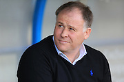 Neil McDonald during the Sky Bet League 1 match between Rochdale and Blackpool at Spotland, Rochdale, England on 16 April 2016. Photo by Daniel Youngs.