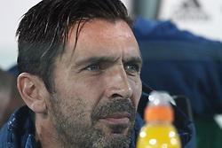 October 25, 2017 - Turin, Italy - Juventus goalkeeper Gianluigi Buffon (1) waits on the bench during the Serie A football match n.10 JUVENTUS - SPAL on 25/10/2017 at the Allianz Stadium in Turin, Italy. (Credit Image: © Matteo Bottanelli/NurPhoto via ZUMA Press)