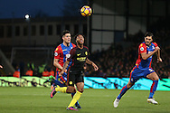 Raheem Sterling of Manchester City in action. Premier League match, Crystal Palace v Manchester city at Selhurst Park in London on Saturday 19th November 2016. pic by John Patrick Fletcher, Andrew Orchard sports photography.