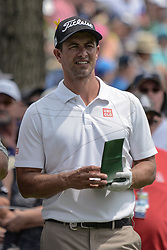 August 9, 2018 - Town And Country, Missouri, U.S - ADAM SCOTT from Australia during round one of the 100th PGA Championship on Thursday, August 8, 2018, held at Bellerive Country Club in Town and Country, MO (Photo credit Richard Ulreich / ZUMA Press) (Credit Image: © Richard Ulreich via ZUMA Wire)