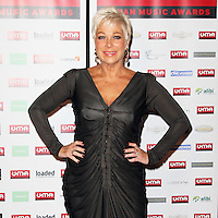 LONDON - DECEMBER 01: Denise Welch attended the Urban Music Awards at The Porchester Hall, London, UK. December 01, 2012. (Photo by Richard Goldschmidt)