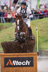 William Fox Pitt, (GBR), Chilli Morning - Eventing Cross - Alltech FEI World Equestrian Games™ 2014 - Normandy, France.<br /> © Hippo Foto Team - Leanjo de Koster