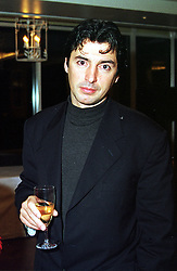 Top chef JEAN-CHRISTOPHE NOVELLI, at a reception in London on 9th February 2000.OAX 20 MO
