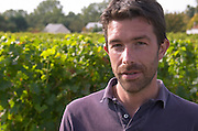 Francois Xavier Varc, winemaker, one of the owners. Domaine Charles Joguet, Clos de la Dioterie, Chinon, Loire, France