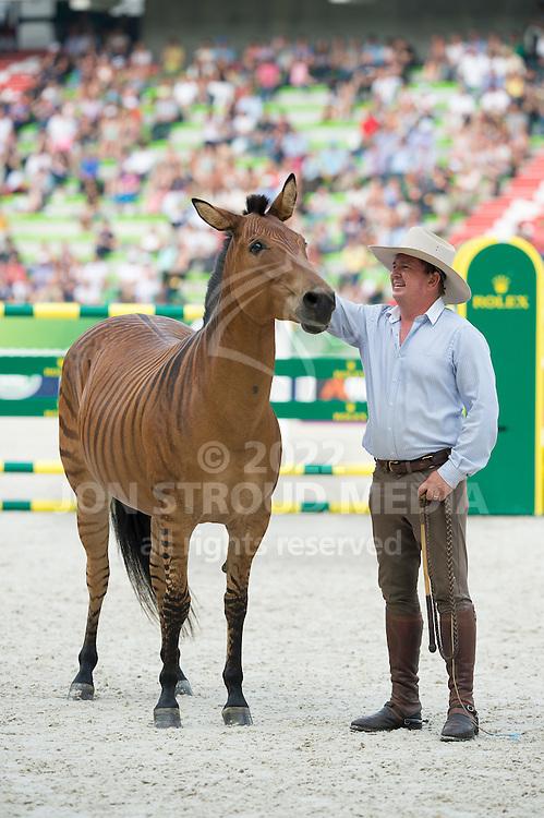 Zorse demonstration - Closing Ceremony - Alltech FEI World Equestrian Games™ 2014 - Normandy, France.<br /> © Hippo Foto Team - Jon Stroud<br /> 07/09/14