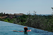 Italy, Tuscany, Il Borro, resort, Spa, and winery, ownde by Ferragamo Family.
