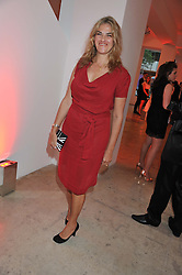TRACEY EMIN at a dinner in aid The Journalism Foundation held at Philips De Pury & Company, Howick Place, London, SW1 on 22nd May 2012.