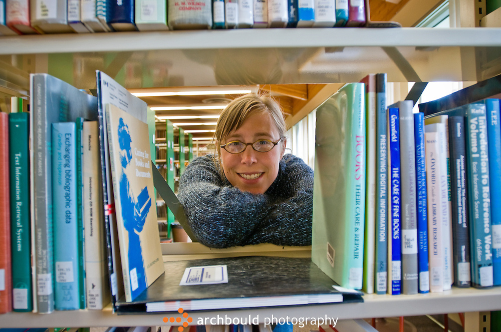 College student in library.<br /> <br /> NOT IN YOUR BUDGET? Contact Cathie for a price specific to your project.