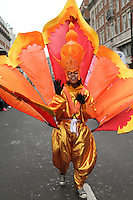 UK Carnivals London's New Year's Day Parade, City of Westminster, London, UK, 01 January 2011:  Contact: Ian@Piqtured.com +44(0)791 626 2580 (Picture by Richard Goldschmidt)