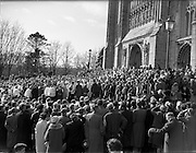 17/03/1961<br /> 03/17/1961<br /> 17 March 1961<br /> Patrician Year Ceremonies open at Armagh. The Patrician Year, marking the fifteenth centenary of the death of Saint Patrick, opened on St. Patricks Day in Armagh.