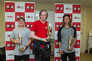 Junior CLass Podium, Sean Bolger, Troy Dowel, Ross Murdoch - Rallycross Australia - Rnd 1 - February 26th 2017. MARULAN DIRT & TAR CIRCUITS, MARULAN, NSW