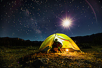 Moon Star camp, Stough Creek Basin, Wind River Range, Wyoming.