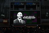 NBA-Kobe Bryant Memorial-Jan 26, 2020