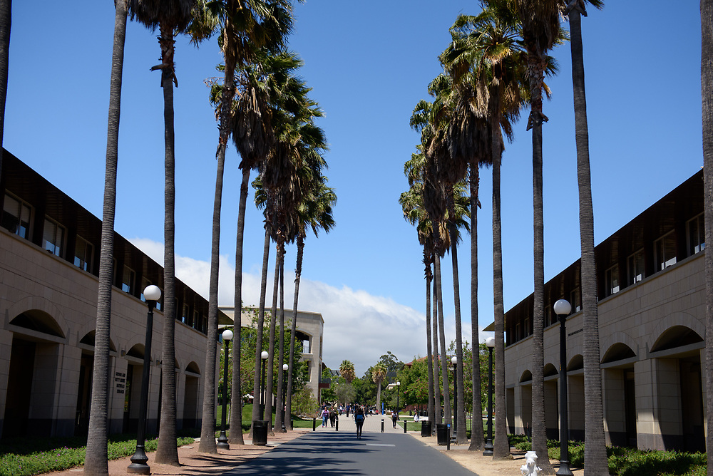 Stanford, Ca - Thursday, May 25, 2017: Stanford campus life, Engineering.