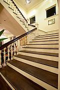 Stairway in Moana Hotel in Waikiki, Hawaii