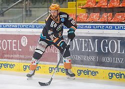 21.02.2021, Keine Sorgen Eisarena, Linz, AUT, EBEL, EHC Liwest Black Wings Linz vs iClinic Bratislava Capitals, 48. Qualifikationsrunde, im Bild Dragan Umicevic (Steinbach Black Wings 1992) // during the bet-at-home ICE Hockey League 48th qualifying round match between EHC Liwest Black Wings Linz and iClinic Bratislava Capitals at the Keine Sorgen Eisarena in Linz, Austria on 2021/02/21. EXPA Pictures © 2021, PhotoCredit: EXPA/ Reinhard Eisenbauer
