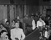 Y-481010-07.  Knotty Pine Tavern, 1321 SW Washington, Portland. Presently occupied by Scooter McQuades Cafe & Bar. Oct 10, 1948