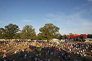 MANCHESTER, TN - JUNE 14:   The Which Stage at the 2009 Bonnaroo Music and Arts Festival on June 14, 2009 in Manchester, Tennessee. Photo by Bryan Rinnert/3Sight Photography
