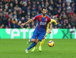 December 30, 2018 - London, England, United Kingdom - London, England - 30 December, 2018.Crystal Palace's Luka Milivojevic.during Premier League between Crystal Palace and Chelsea at Selhurst Park stadium , London, England on 30 Dec 2018. (Credit Image: © Action Foto Sport/NurPhoto via ZUMA Press)