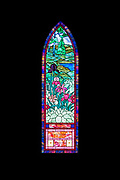 'Florence Daly and Dorothy Daly Johnson Memorial Window,' Jackman Studio, 1997. St. Matthew and Barnabas, Hallowell, Maine.