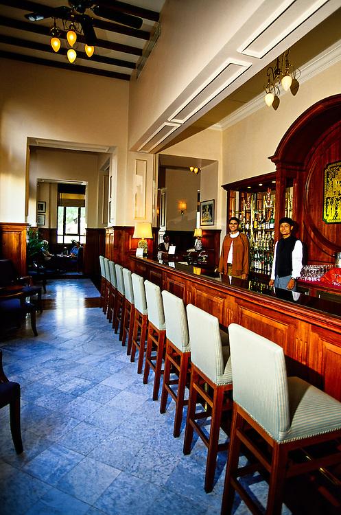 Bar, Strand Hotel, Yangon (Rangoon), Burma (Myanmar)
