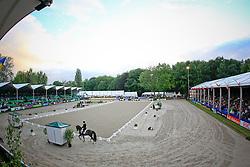 overview dressage arena<br /> CHIO Rotterdam 2010<br /> © Hippo Foto - Leanjo de Koster