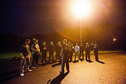 Monday nights Institute Of Krav Maga Scotland Stirling class, at The Peaks, was an outdoor VIP protection class, including guns and using common objects to defend against weapons.