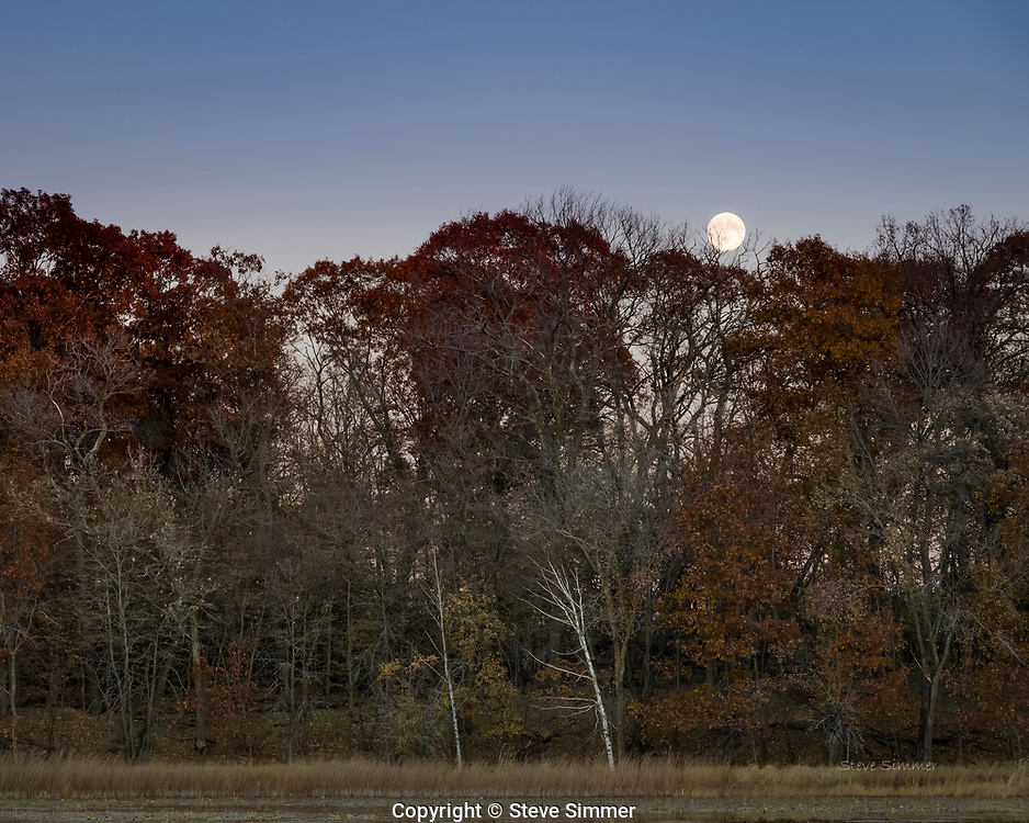From a two-day late-fall visit to Sherburne National Wildlife Refuge. A full moon, sandhill cranes and sunsets made this experience memorable!