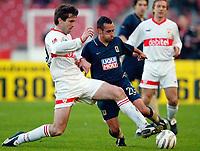 v.l. Zvonimir Soldo, Markus Weissenberger<br />Bundesliga VfB Stuttgart - TSV 1860 MŸnchen