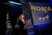 Giorgia Meloni ospite della trasmissione televisiva 'Otto e mezzo' in onda su La7. Roma 16 marzo 2016. Christian Mantuano / OneShot