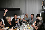 Kiera Parks and Jamie Dornan amongst others playing bingo. An Evening At Sanderson,  Sanderson Hotel, 50 Berners Street, London, W1, Charity reception now in its seventh year raising money for CLIC Sargent.15 May 2007. -DO NOT ARCHIVE-© Copyright Photograph by Dafydd Jones. 248 Clapham Rd. London SW9 0PZ. Tel 0207 820 0771. www.dafjones.com.