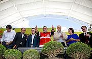 Belo Horizonte _ MG, 17 de Abril de 2008..Visita do presidente Lula nas obras do PAC (Plano de Aceleracao do Crescimento) na Vila Sao Jose, regiao Nordeste de Belo Horizonte....Foto: LEO DRUMOND / AGENCIA NITRO