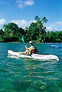Kayaking, Samoa<br />