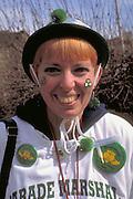 St Patricks day parade marshal age 35.  St Paul  Minnesota USA