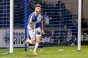 Bristol Rovers forward Matt Taylor  scores during the Sky Bet League 2 match between Bristol Rovers and York City at the Memorial Stadium, Bristol, England on 12 December 2015. Photo by Simon Davies.