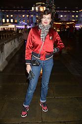 JASMINE GUINNESS at Skate At Somerset House with Fortnum & Mason on 16th November 2016.