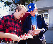 Tennessean Lamar Alexander makes his first run for governor of Tennessee by crisscrossing the state in his red and black plaid shirt and his down home, man of the people manner. 1979