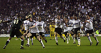 Photo: Paul Thomas.<br /> Derby County v Southampton. Coca Cola Championship. Play Off Semi Final, 2nd Leg. 15/05/2007.<br /> <br /> Derby celebrate with their keeper Stephen Bywater.