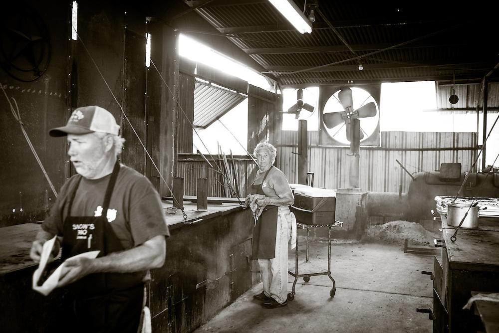 Snow's BBQ, Lexington, Texas. August 8,2015. Photograph ©2015 Darren Carroll
