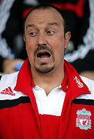 Photo: Paul Thomas.<br />Crewe Alexandra v Liverpool. Pre Season Friendly. 14/07/2007.<br /><br />Rafael Benitez, Liverpool manager.