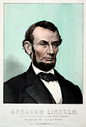 President Abraham Lincoln 1865. 16th President of the United States of America. Kimmel & Foster