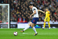 Michael Keane of England during the UEFA European 2020 Qualifier match between England and Czech Republic at Wembley Stadium, London, England on 22 March 2019.