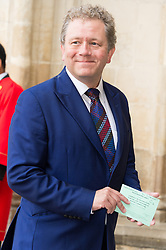© Licensed to London News Pictures. 07/06/2017.  London, UK. JON CULSHAW attends the Memorial Service of RONNIE CORBETT at Westminster Abbey. The entertainer, comedian, actor, writer, and broadcaster was best known for his long association with Ronnie Barker in the BBC television comedy sketch show The Two Ronnies. Photo credit: Ray Tang/LNP