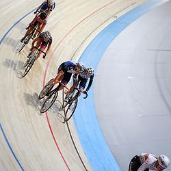 16-12-2016: Wielrennen: NK Baan Duur en Sprint: Apeldoorn (NED): Omnisport: Koppelkoers vrouwen